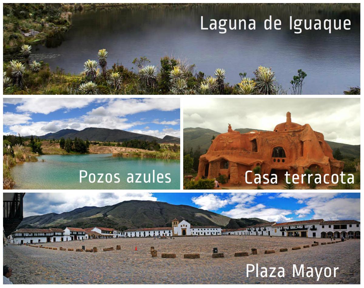 Mejores lugares en Villa de Leyva